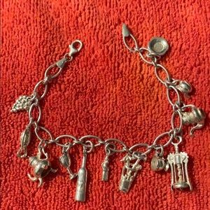 Jewelry - Vintage Italian Silver Bracelet Charms Collection